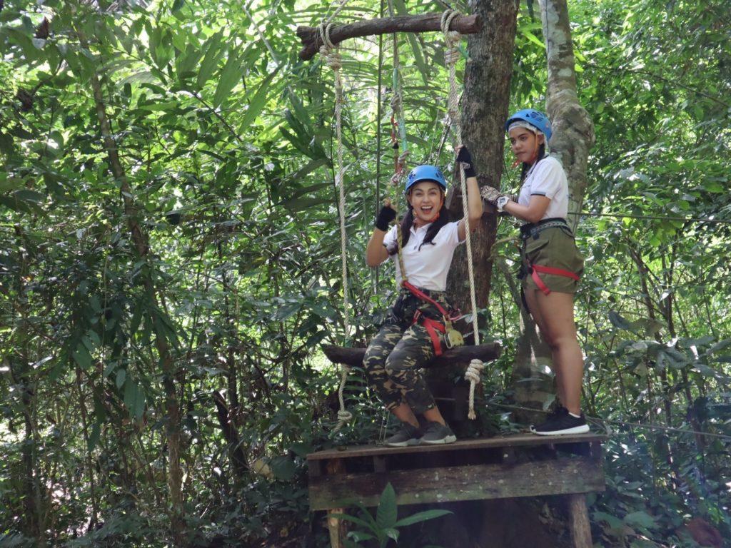 Tree Top advanture park krabi